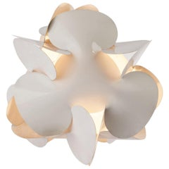 Enrico Botta Table Lamp Plan for Sundown White Colour