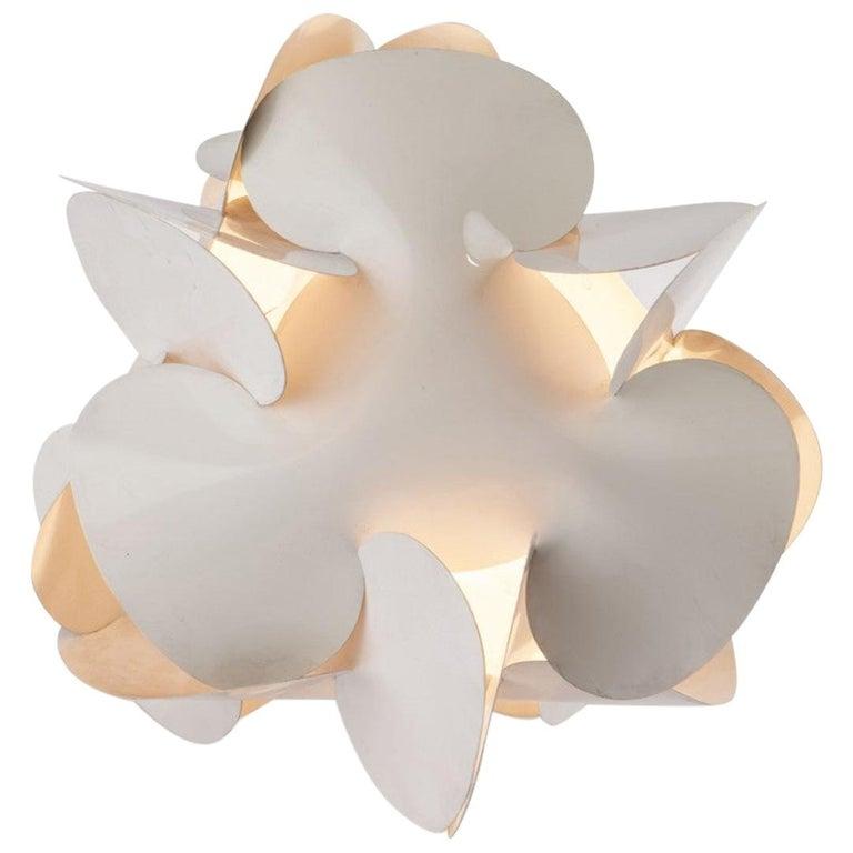 Enrico Botta Table Lamp Plan for Sundown White Colour For Sale