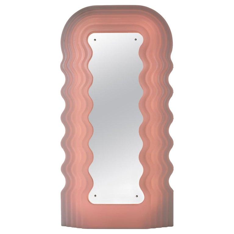 Ettore Sottsass for Poltronova Ultrafragola mirror, 1970, offered by Società Antiquaria