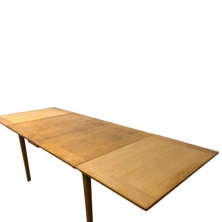 Mid-Century Modern 20th Century Extension Table Carl Malmsten For Sale