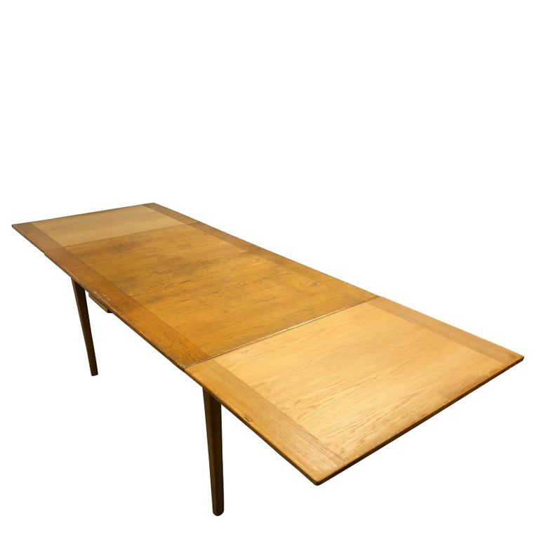 Swedish 20th Century Extension Table Carl Malmsten For Sale