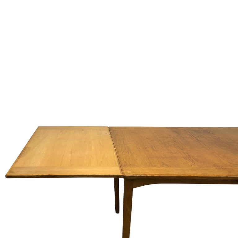20th Century Extension Table Carl Malmsten In Good Condition For Sale In West Palm Beach, FL