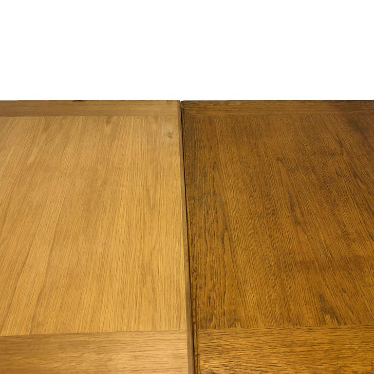 Walnut 20th Century Extension Table Carl Malmsten For Sale