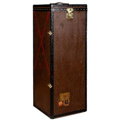 "20th Century Extremely Rare Louis Vuitton ""Male Penderie"" Trunk, circa 1910"