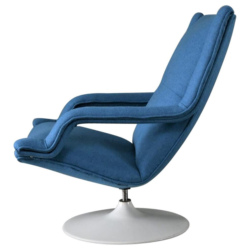 20th Century F140 Swivel Chair by Geoffrey Harcourt for Artifort, 1970s