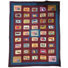20th Century Flag Flannel with Wool Borders
