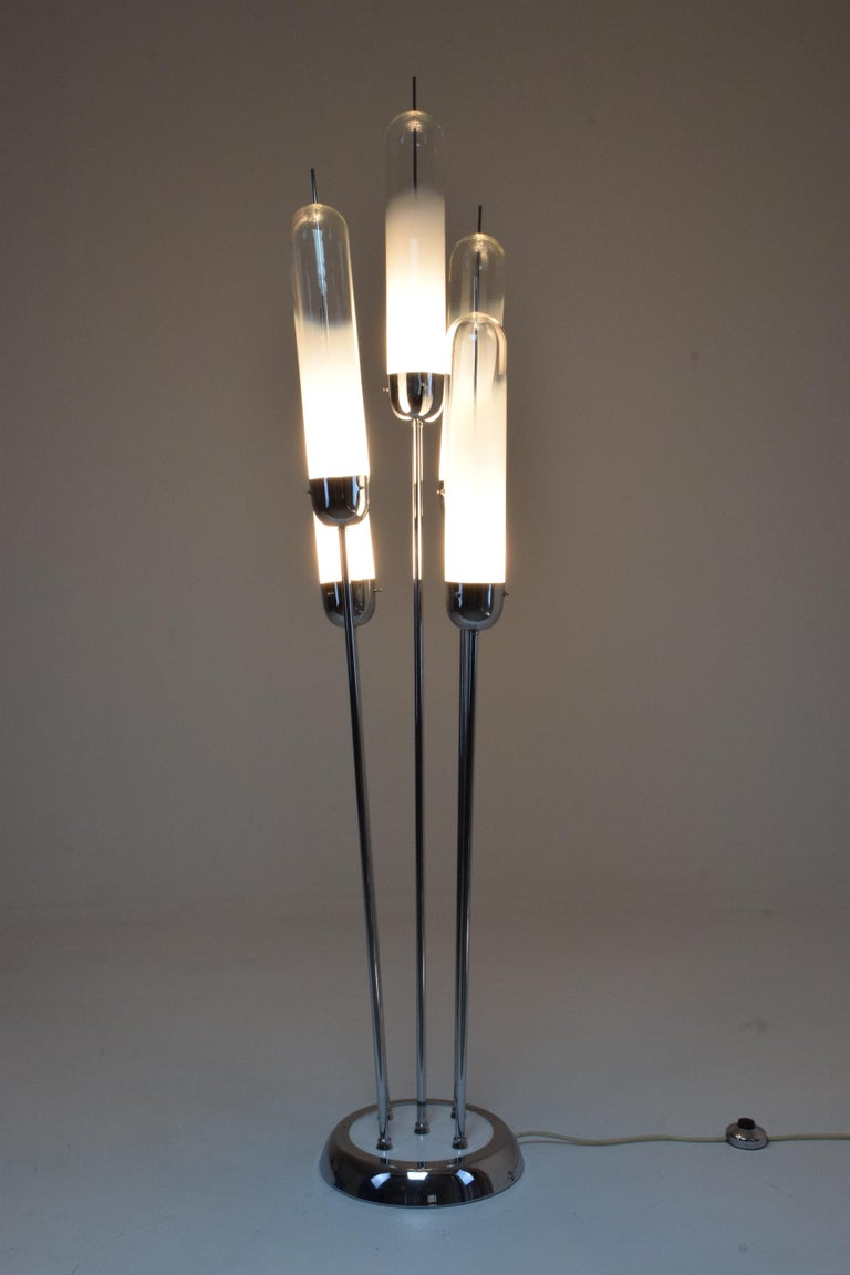20th Century Floor Lamp in Murano Glass by Carlo Nason for Mazzega, 1970s For Sale 3