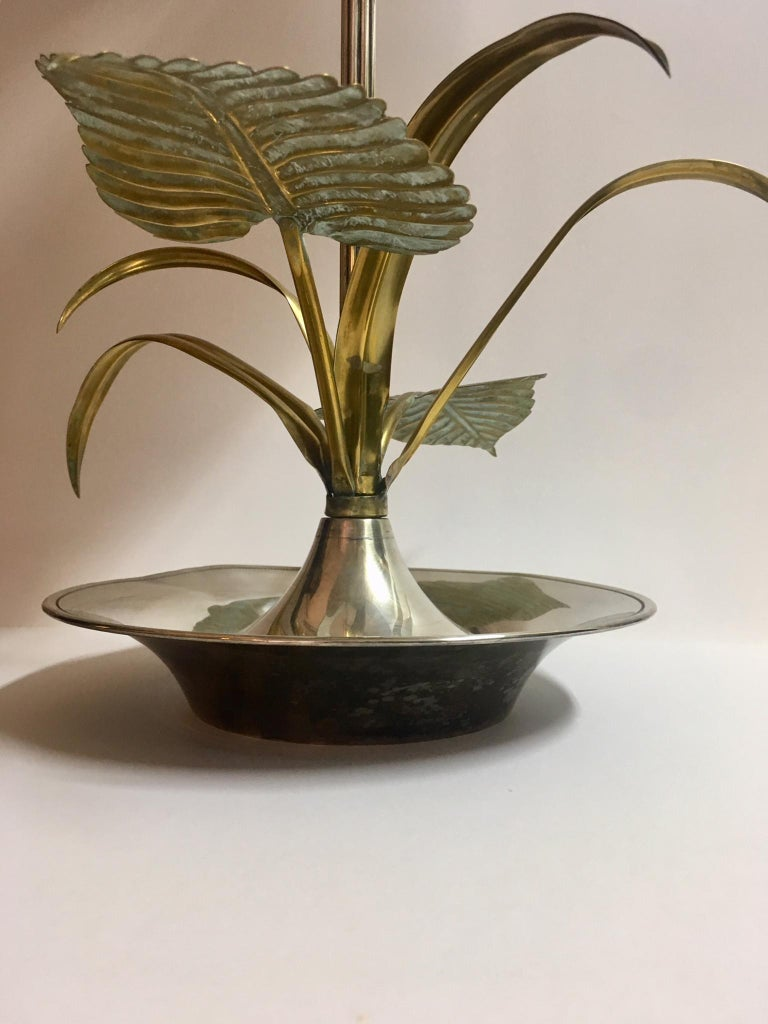 20th Century Flower Table Lamp For Sale 3