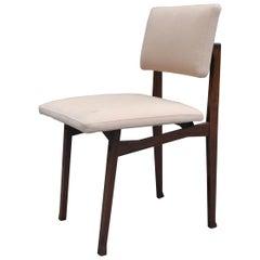 20th Century Franco Albini Chair SD9 Luisella for Poggi Rosewood and Fabric