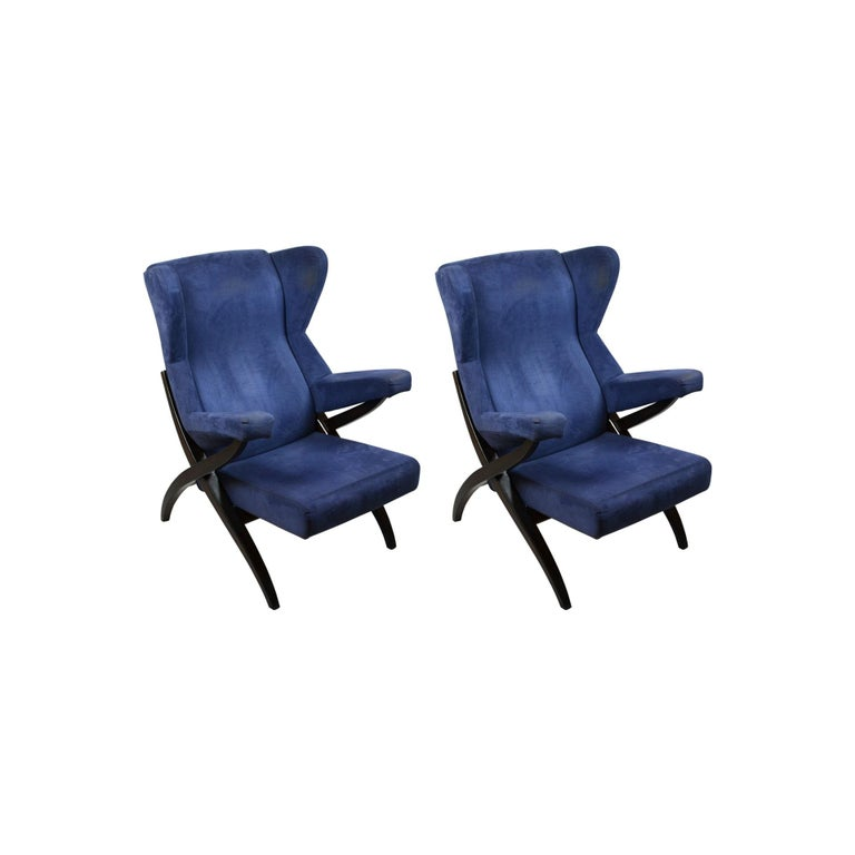 Set of two armchairs model