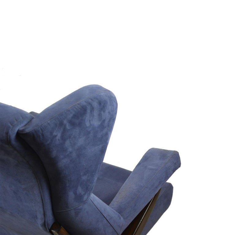 20th Century Franco Albini Couple of Armchairs Model Fiorenza for Arflex For Sale 1