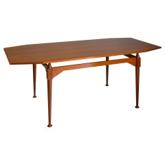 20th Century Franco Albini Table Model TL3 for Poggi in Teak Wood