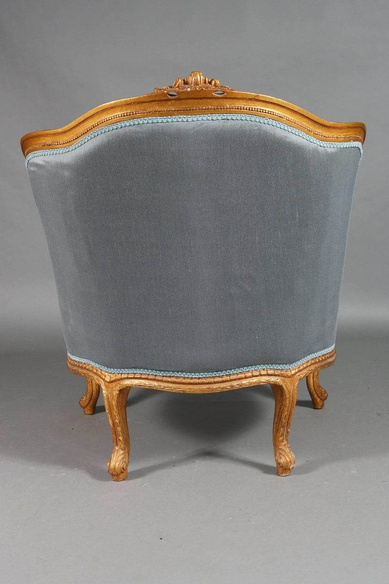 20th Century French Armchair Louis Quinze Baroque Style For Sale 4