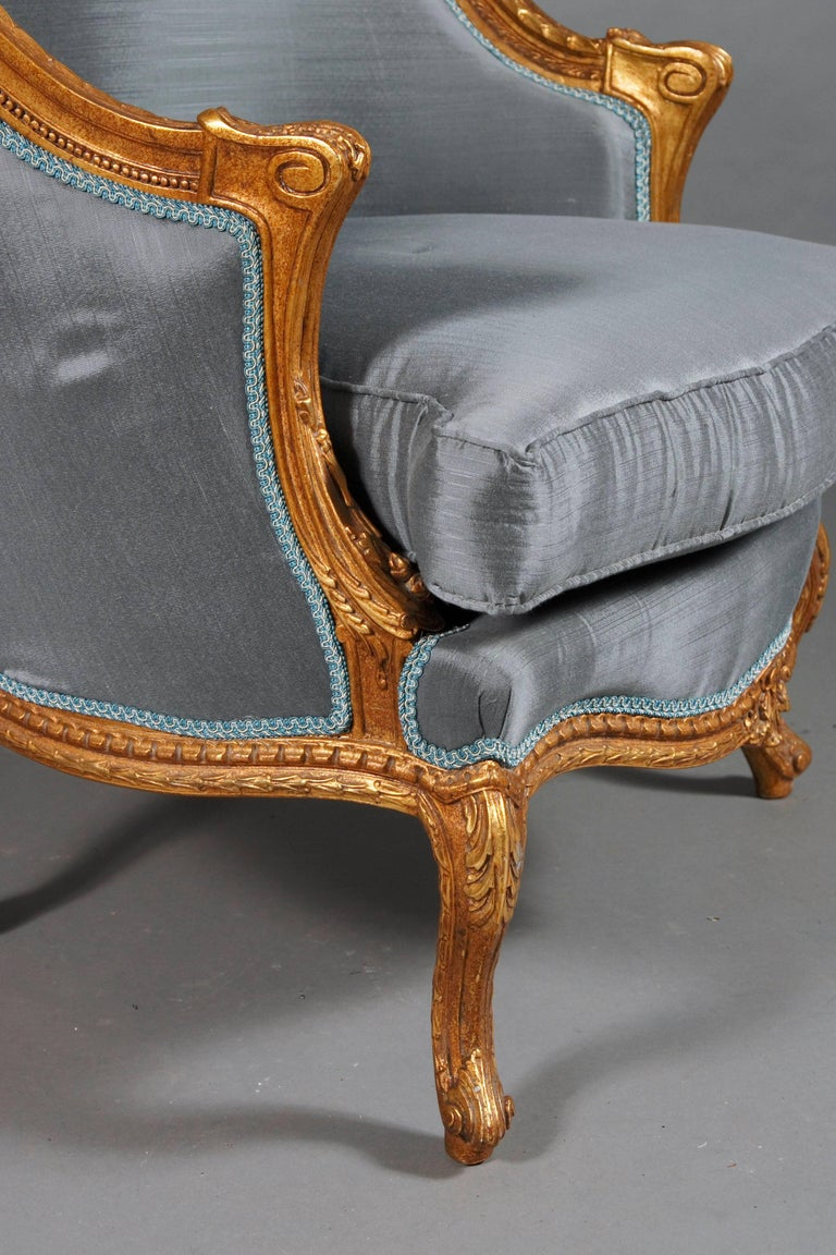 Louis XV 20th Century French Armchair Louis Quinze Baroque Style For Sale