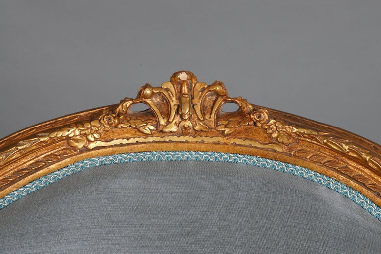 20th Century French Armchair Louis Quinze Baroque Style In Good Condition For Sale In Berlin, DE