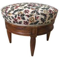 20th Century French Art Deco Footstool, 1930s
