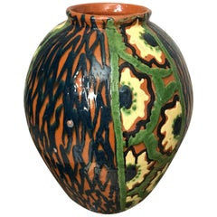 20th Century French Art Deco Glazed Terracotta, 1930s