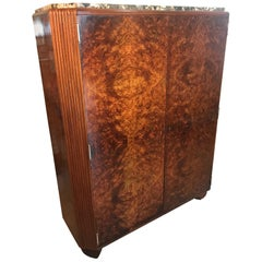 20th Century French Art Deco Rosewood Cabinet, 1930s
