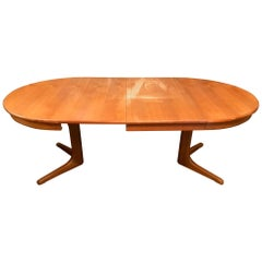 20th Century French Baumann Expandable Table, 1960s