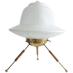 20th Century French Brass Table Lamp, 1960s