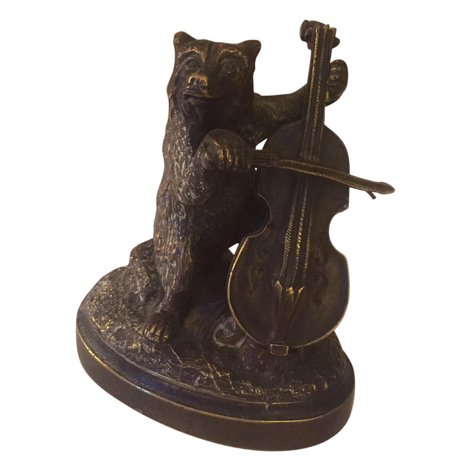 20th Century French Bronze Bear, 1920s
