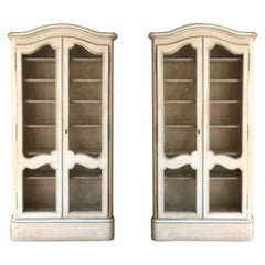 20th Century French Cabinets in Lacquered Wood by Maison Jansen Louis XV Style