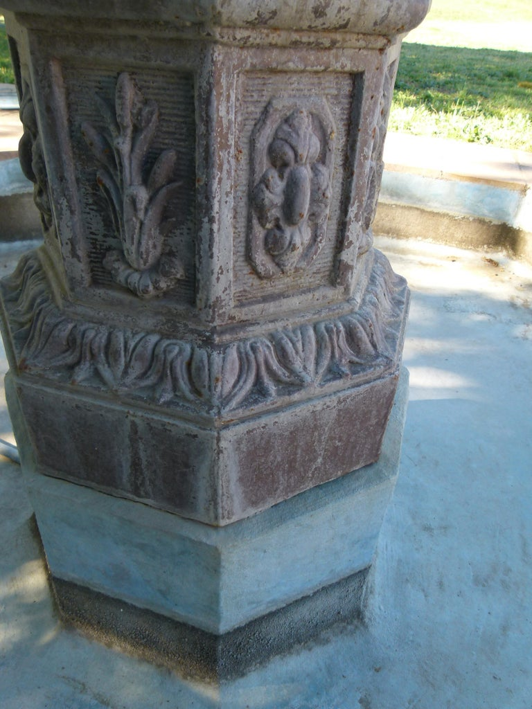 20th Century Cast Iron French Fountain For Sale 11