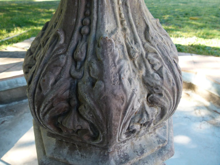 20th Century Cast Iron French Fountain For Sale 13