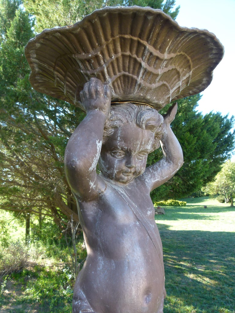 20th Century Cast Iron French Fountain For Sale 4