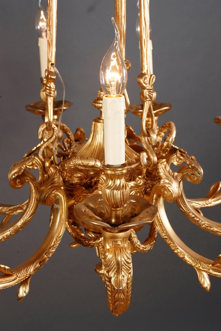 20th Century French Chandelier in Louis XIV Style For Sale 2