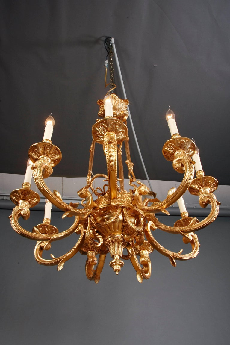 20th Century French Chandelier in Louis XIV Style For Sale 3
