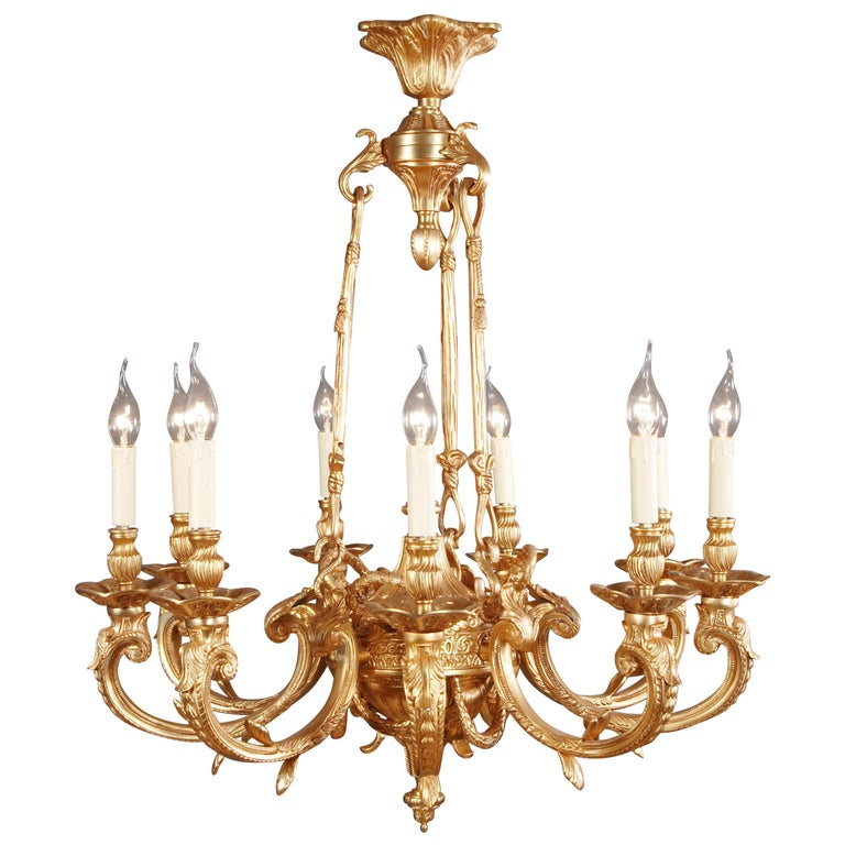 20th Century French Chandelier in Louis XIV Style For Sale