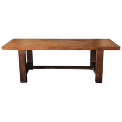 20th Century French Dining Table in Walnut
