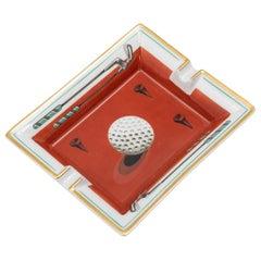 20th Century French Golfing Ash Tray by Hermès