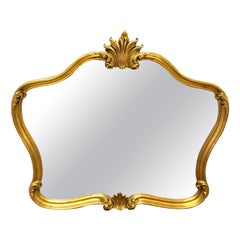 Louis XV Mantel Mirrors and Fireplace Mirrors