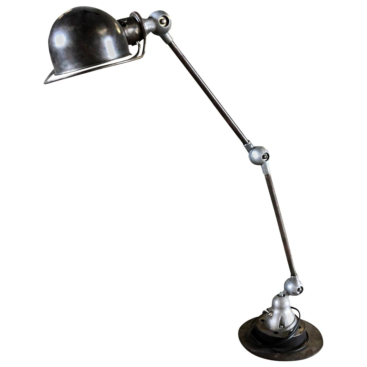 20th Century French Industrial Desk Lamp in the Style of Jean Louis Domecq