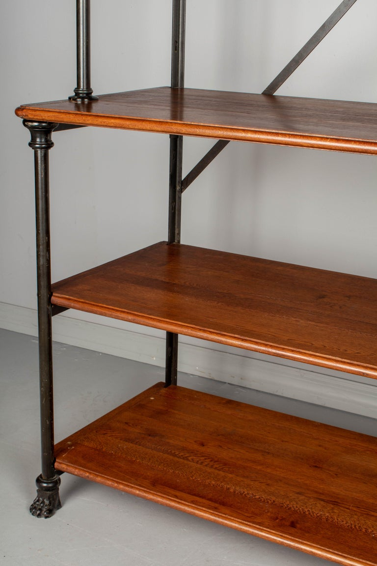 20th Century French Industrial Library Shelving For Sale 4