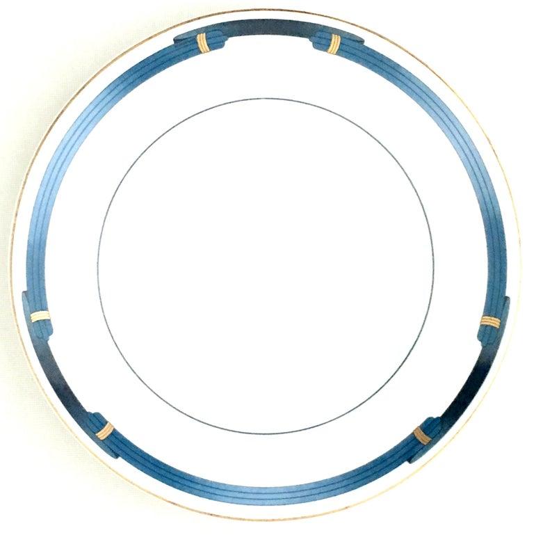 20th century French Limoge porcelain dinner plates,
