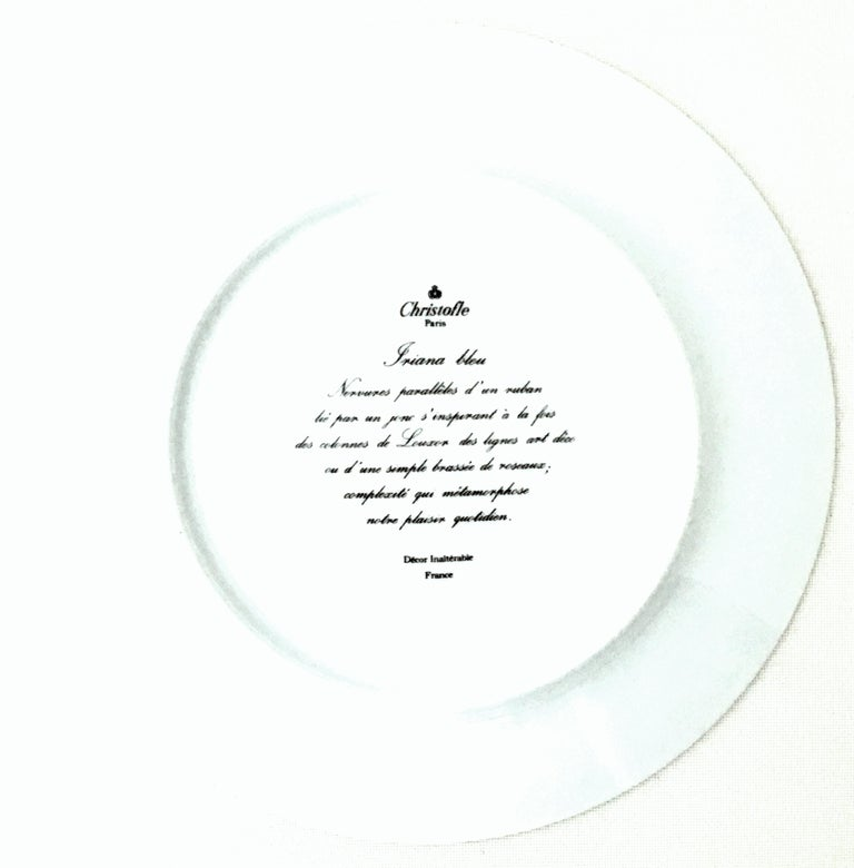 French Limoge Dinner Plates