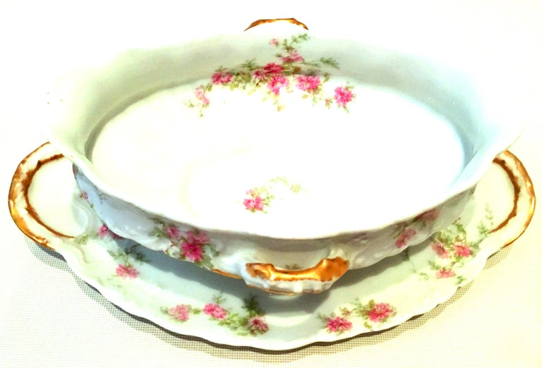 20th Century French Limoges Set of Three Serving Pieces by, Theodore Haviland For Sale 7