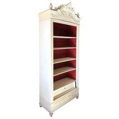 20th Century French Louis XV Style Painted Armoire, 1920s