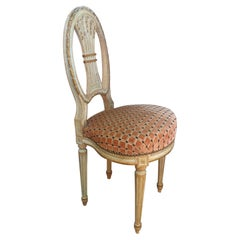20th century French Louis XVI Style Mongolfiere Chair, 1920s