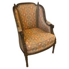 20th century French Louis XVI Style Wingback Armchair