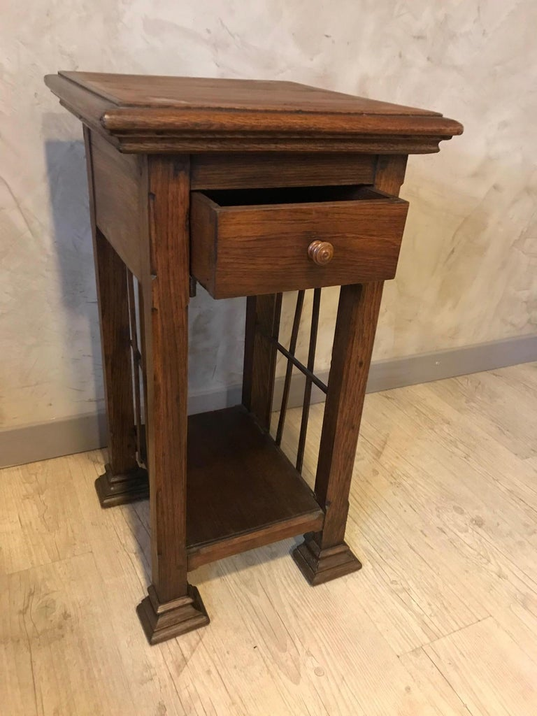 20th Century French Oak Side Table, 1920s For Sale 3