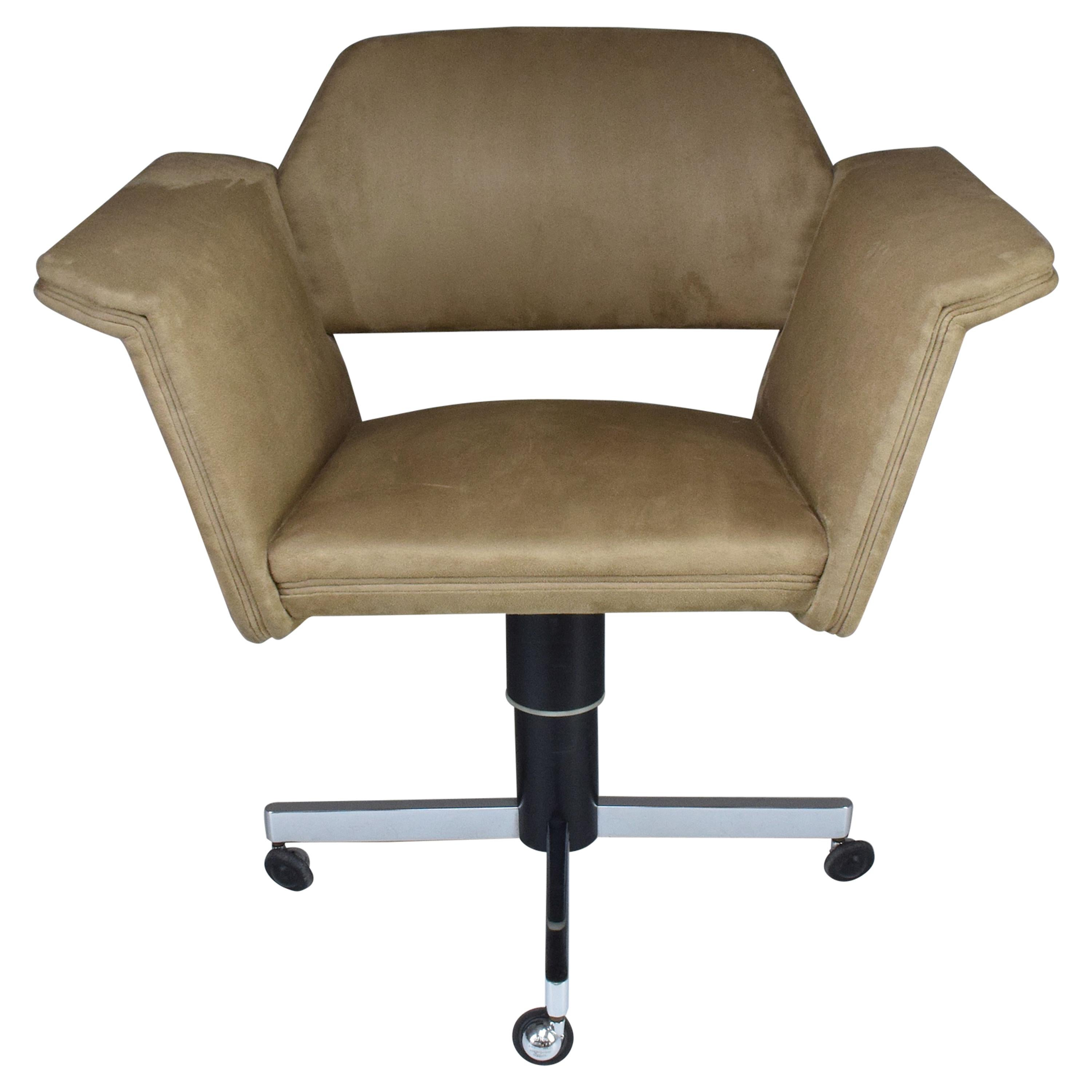 20th Century French Office Chair by Joseph Andre Motte, 1950s