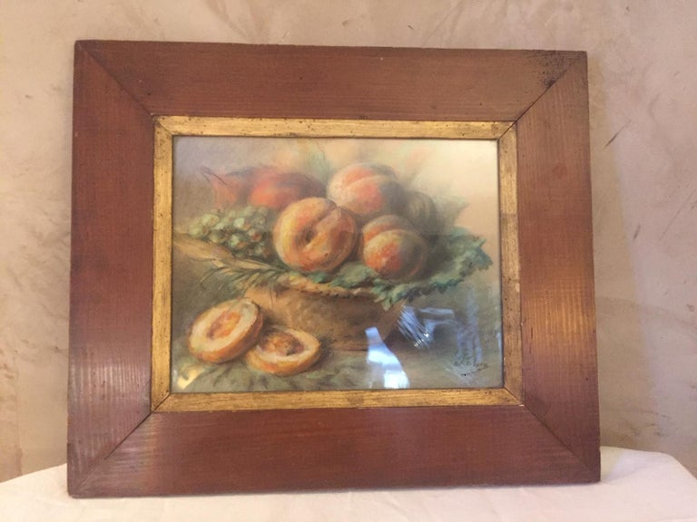 Very nice 20th century French Pastel drawing signed on the right bottom