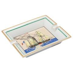 20th Century French Sailing Ash Tray by Hermès