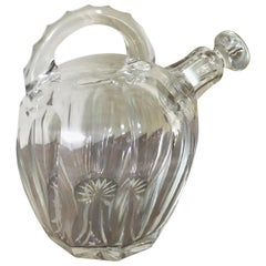 20th Century French Saint Louis Crystal Carafe, 1950s
