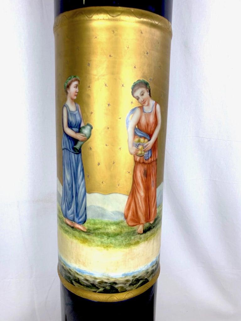 20th Century French Sèvres Porcelain Pedestal For Sale 1