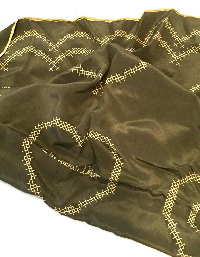Women's or Men's 20th Century French Silk Christian Dior
